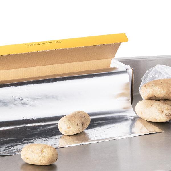 "Choice 18"" x 1000' Food Service Standard Aluminum Foil Roll"