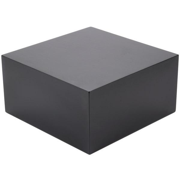 "Cal-Mil 432-6-96 Midnight Cube Riser - 12"" x 12"" x 6"" Main Image 1"