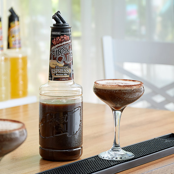 Finest Call 1 Liter Premium Espresso Martini Mix Main Image 2