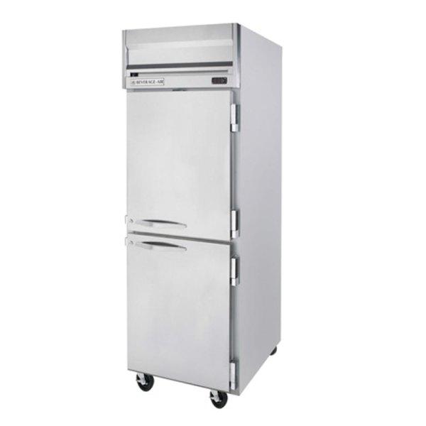 "Beverage-Air HFP1HC-1HS Horizon Series 26"" Solid Half Door Reach-In Freezer Main Image 1"