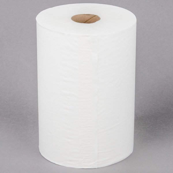 Lavex Janitorial Aircell (TAD) 10 inch White Premium Paper Towel 700' Roll - 6/Case