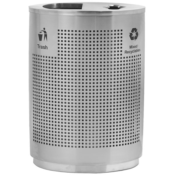 Commercial Zone Decorative Trash Cans
