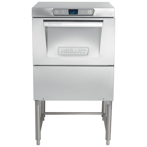 Hobart LXGePR-1 Advansys PuriRinse Low Temperature Glass Washer - 120V Main Image 1