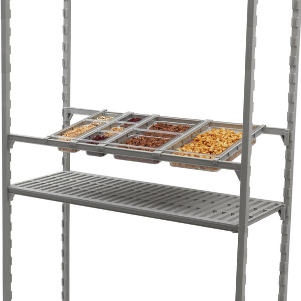 "Cambro EDBA Camshelving® Angled Divider Bar for 24"" Wide Elements Shelves Main Image 2"