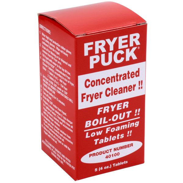 Fryer Puck 401304001 4 oz. Deep Fat Fryer Cleaning Tablet - 30/Case