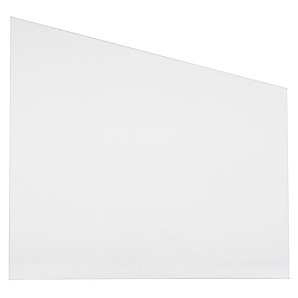 """Avantco PHDC36SG 15 1/2"""" x 18"""" Replacement Glass Side Panel Main Image 1"""