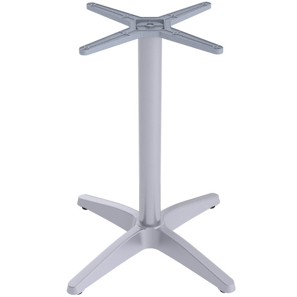 "FLAT Tech CX26 26"" x 26"" Auto Adjustable Aluminum Table Base with Extra Protection Finish Main Image 1"
