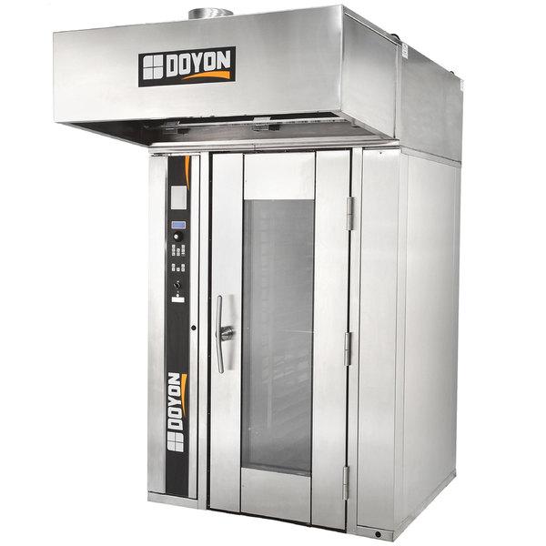 Doyon SRO1G Natural Gas Single Rotating Rack Bakery Convection Oven - 240V, 3 Phase