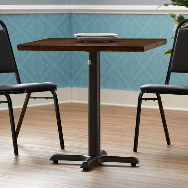 "FLAT Tech KX22 22"" x 22"" Auto Adjustable Black Table Base Main Image 4"