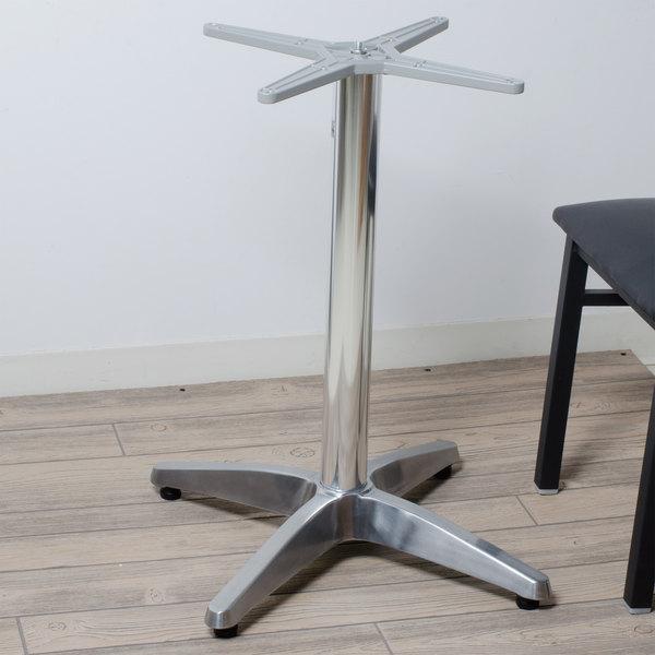"FLAT Tech CT1104 26"" x 26"" Auto Adjustable Aluminum Table Base"