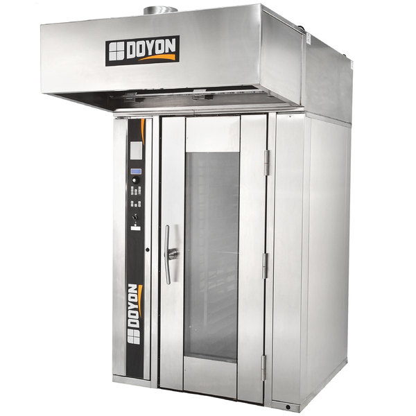 Doyon SRO1G Liquid Propane Single Rotating Rack Bakery Convection Oven - 240V, 1 Phase