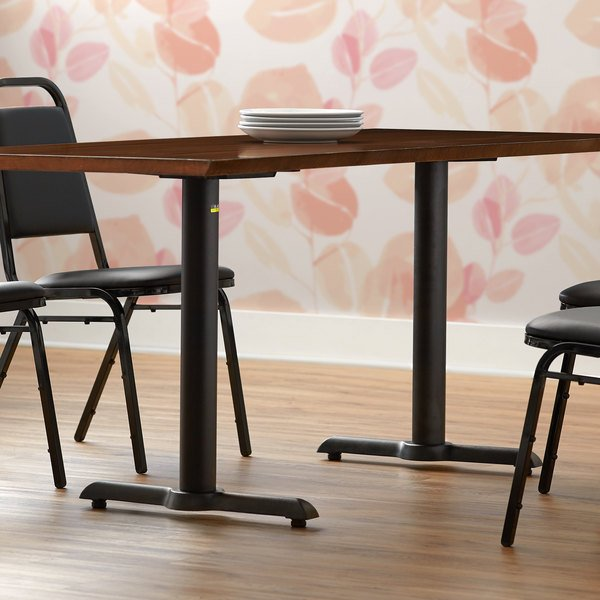 "FLAT Tech KT22 22"" Self-Stabilizing Black End Table Base Set Main Image 3"