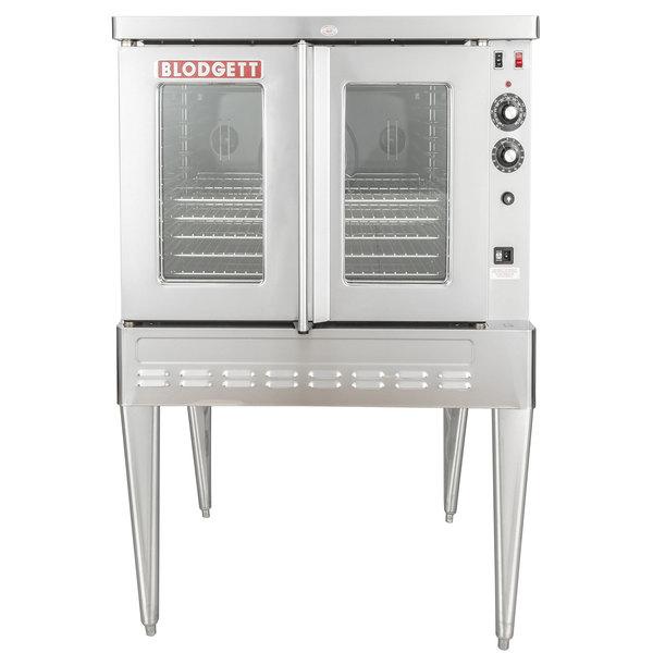 Blodgett SHO-100-G Liquid Propane Single Deck Full Size Convection Oven - 50,000 BTU Main Image 1