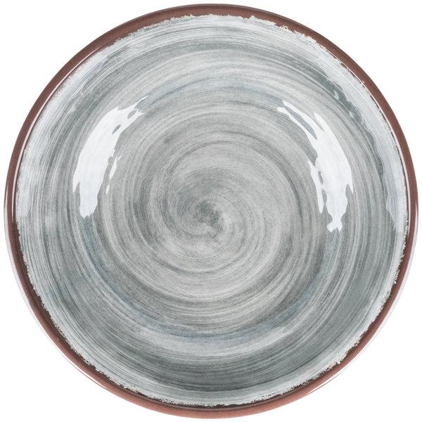 Direct all eyes towards your food with this Carlisle 5401918 Mingle 35.5 oz. smoke melamine cereal bowl.  sc 1 st  WebstaurantStore & Carlisle 5401918 Mingle 1.11 Qt. Smoke Melamine Cereal Bowl - 12/Case
