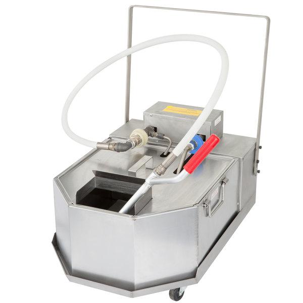Anets FFM80 GoldenFry Portable Fryer Oil Filter - 80 lb. Capacity Main Image 1