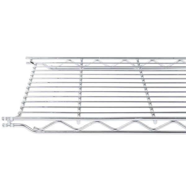 "Metro 1224C 12"" x 24"" Erecta Chrome Wire Shelf"