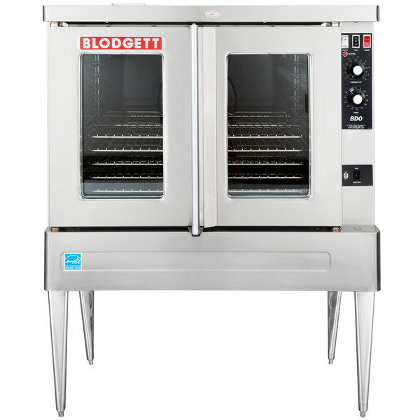 Blodgett BDO-100-G-ES Liquid Propane Single Deck Full Size Gas Convection Oven - 45,000 BTU