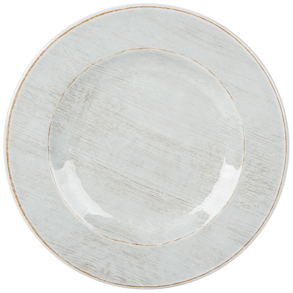 The gentle striped design creates movement and interest while its buff hue accents the rest of your table setting. Dishwasher safe this plate can easily be ...  sc 1 st  WebstaurantStore & Carlisle 6400206 Grove 9\