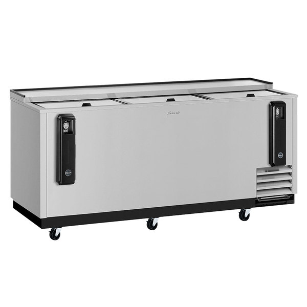 """Turbo Air TBC-80SD-N 80"""" Super Deluxe Stainless Steel Bottle Cooler"""