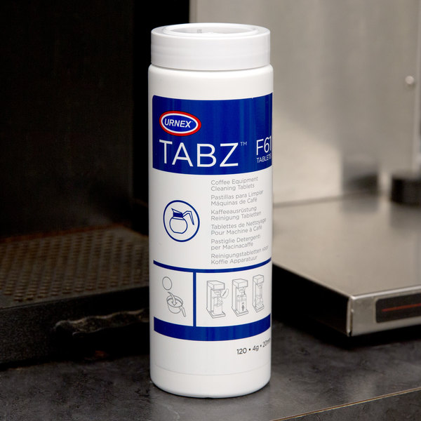 Urnex 13-F61-UX120-12 Tabz Coffee Equipment Cleaning Tablets Main Image 4