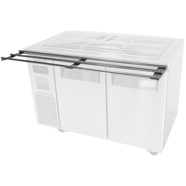 """Turbo Air TS-72 35 1/2"""" x 11"""" Stainless Steel Tray Slides"""