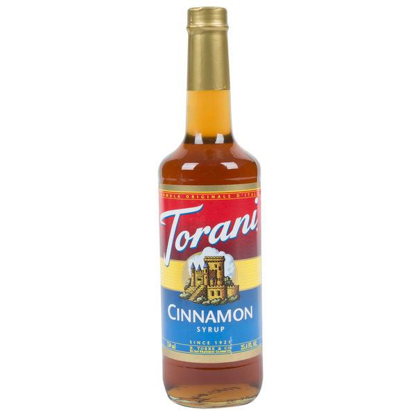 Torani 750 mL Cinnamon Flavoring Syrup