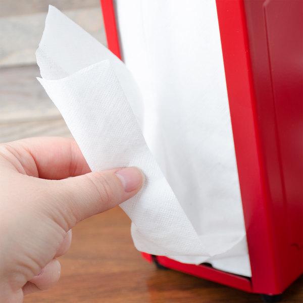 Choice White Tall-Fold Dispenser Napkin - 500/Pack