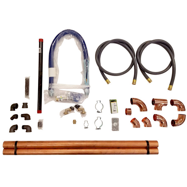 Rational 8720.1561US Installation Kit for Model 102, 201, and 202 Gas Combi Ovens Main Image 1