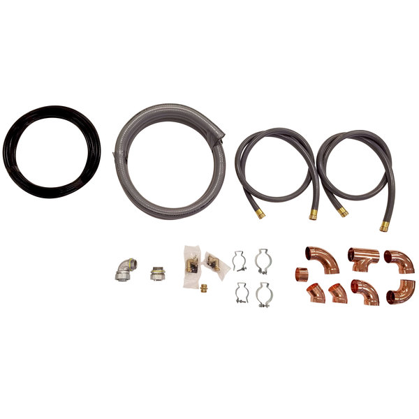Rational 8720.1554US Installation Kit for Model 102 and 202 Electric Combi Ovens Main Image 1