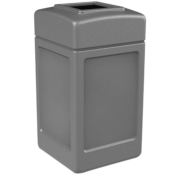 Commercial Zone 732103 PolyTec 42 Gallon Gray Waste Container