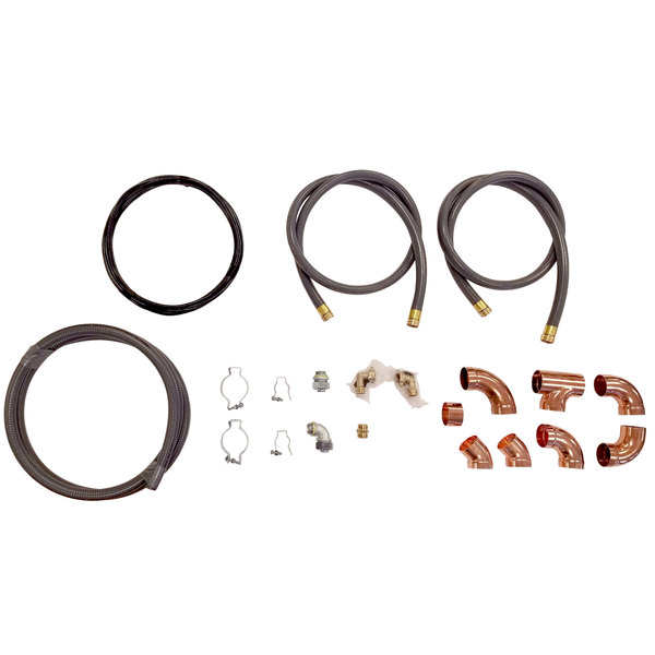 Rational 8720.1551US Installation Kit for Model 101, 102, and 201 Electric Combi Ovens Main Image 1