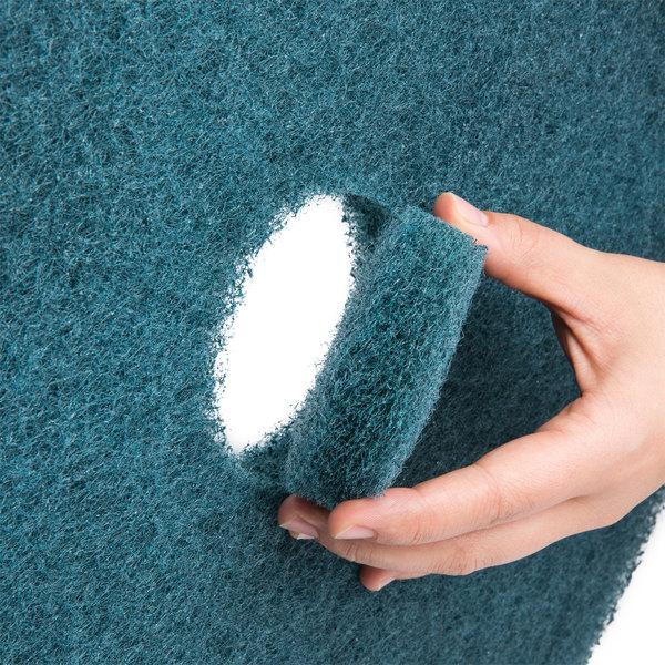 "New Damaged Box Case of 5 20/"" Diameter Blue 3M Cleaner Floor Pad 5300"