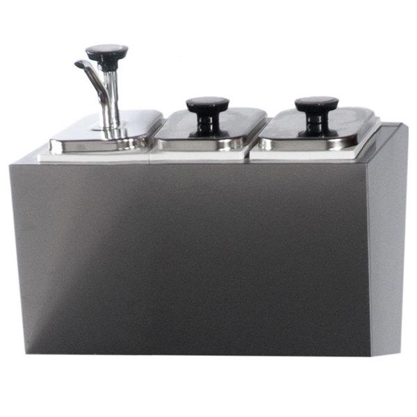 Beverage-Air 00C08-022A-- 3 Jar Topping Rail