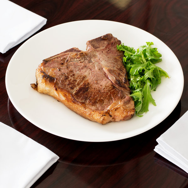 """Chef & Sommelier FN509 Infinity 12"""" White Coupe Bone China Plate by Arc Cardinal - 12/Case Main Image 4"""