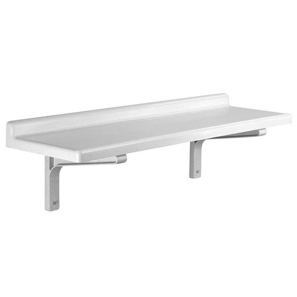 "Cambro CSWS1836S Camshelving® 36"" x 18"" Wall Shelf Main Image 1"