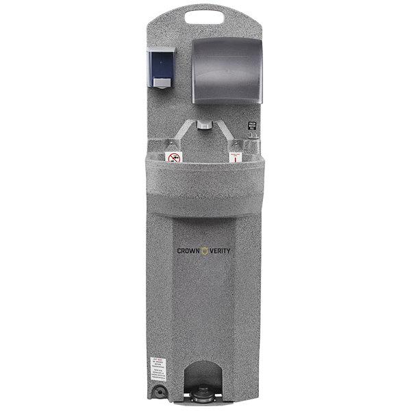 Crown Verity CV-EHS 15 Gallon Economy Portable Outdoor Hand Sink - Single Bowl Main Image 1