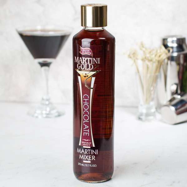 Master of Mixes Martini Gold 375 mL Chocolate Martini Mix