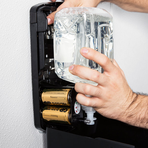 GOJO® 1911-02 LTX Clear & Mild 1200 mL Fragrance Free Foaming Hand Soap Main Image 6