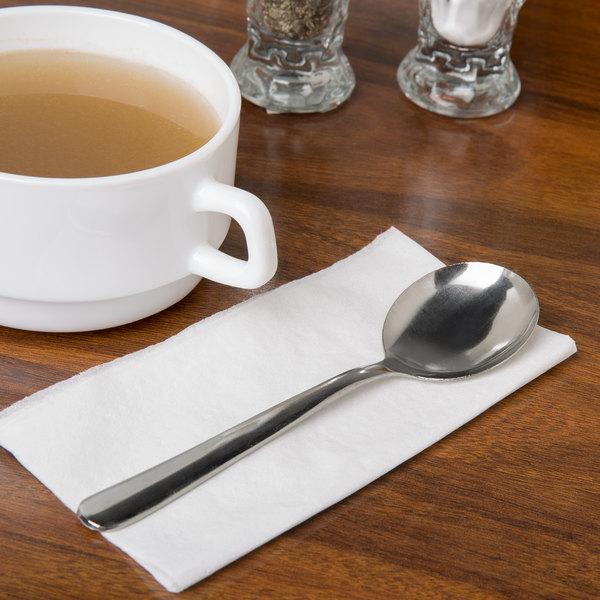 Windsor Flatware Stainless Steel Bouillon Spoon - 12/Case