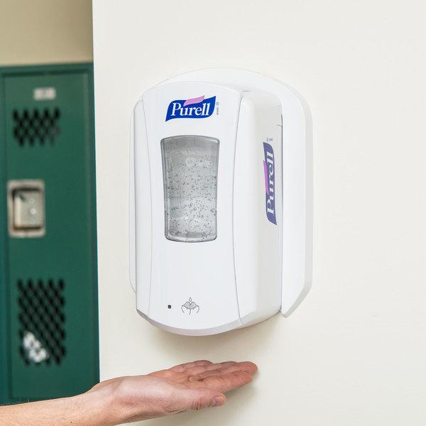 Purell® 1920-04 LTX-12 1200 mL White Touchless Hand Sanitizer Dispenser