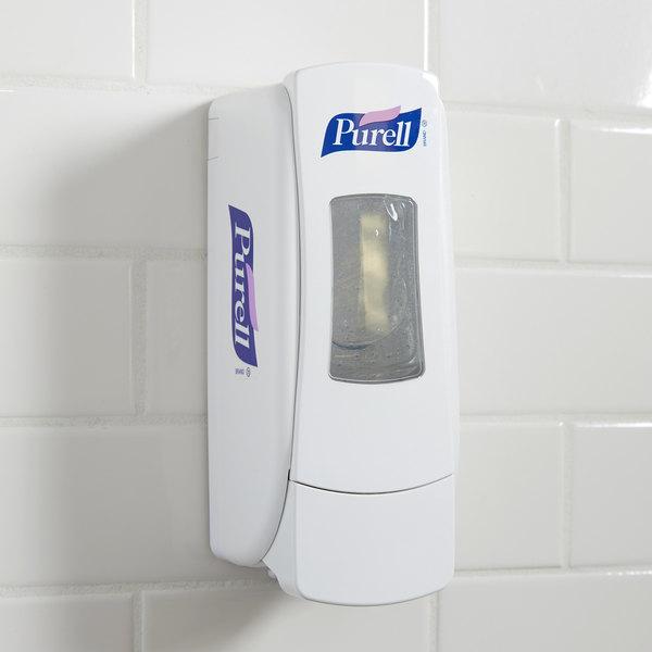 Purell® 8720-06 ADX-7 700 mL White Manual Hand Sanitizer Dispenser Main Image 7