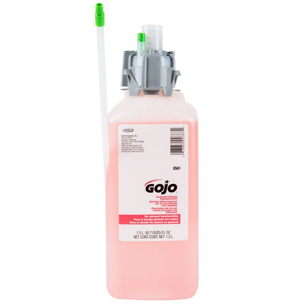 GOJO® 8561-02 CX Luxury 1500 mL Cranberry Foaming Hand Soap