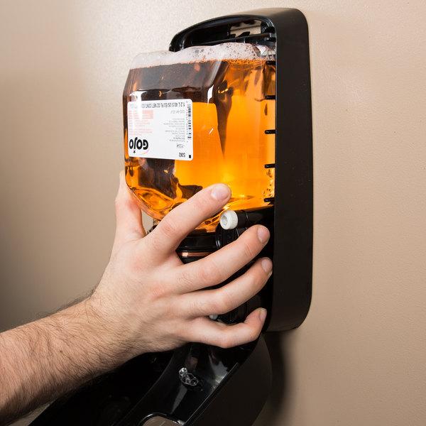 GOJO® 5362-02 TFX Premium 1200 mL Fresh Fruit Foaming Antibacterial Hand Soap - 2/Case