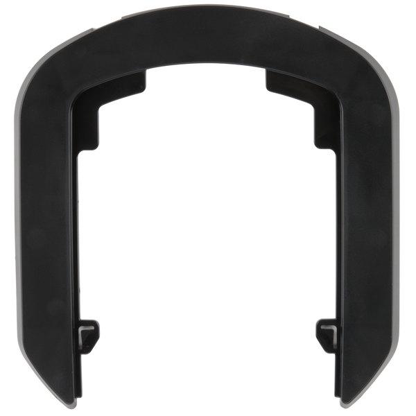 GOJO® 1390-BLK-12 Black True Fit Wall Plate for LTX-7 Dispensers