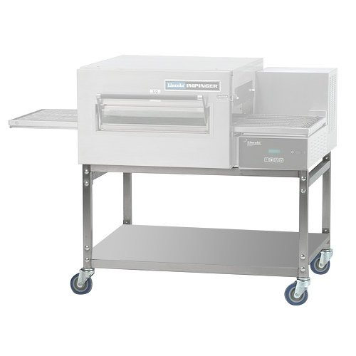 Lincoln 1127-1 Stainless Steel Equipment Stand with Shelf and Casters