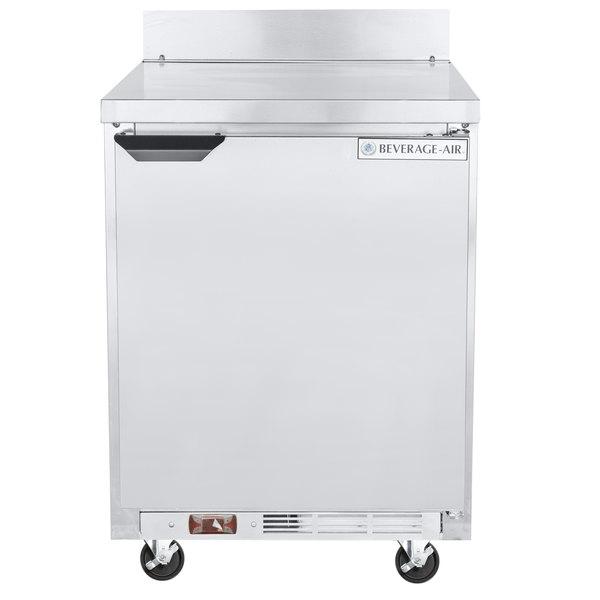 Beverage-Air WTF24AHC 24' Single Door Worktop Freezer - 7 cu. ft.