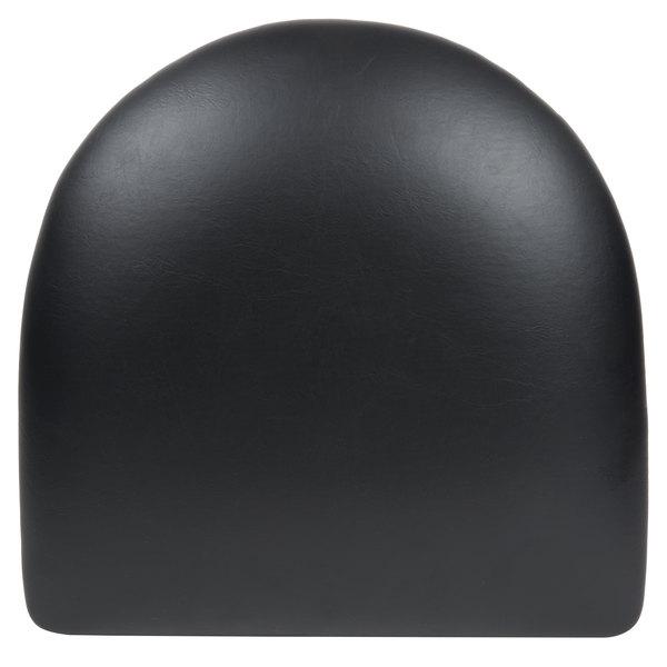 "Lancaster Table & Seating Chair / Barstool 2 1/2"" Black Vinyl Padded Seat"