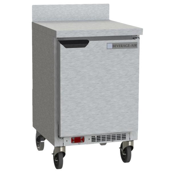 Beverage-Air WTF20HC 20'' Single Door Compact Shallow Depth Worktop Freezer - 2.27 cu. ft. Main Image 1