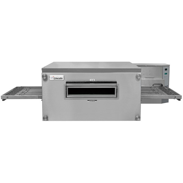 """Lincoln 3240-000-R Impinger Single Belt Electric Conveyor Oven with 40"""" Baking Chamber - 208V, 3 Phase, 24kW Main Image 1"""