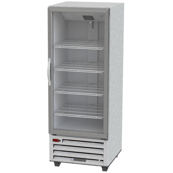 "Beverage-Air RI18HC-G 27"" One Section Glass Door Reach-In Refrigerator - 18 cu. ft. Main Image 1"